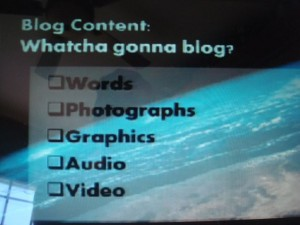 Blogging Totally Rocks