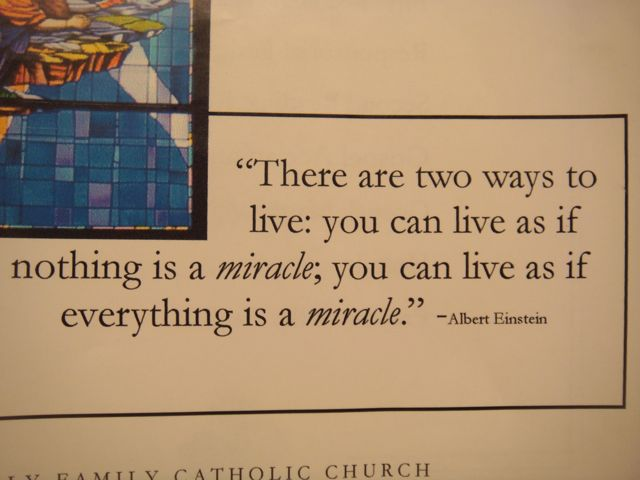 What Exactly Is A Miracle?
