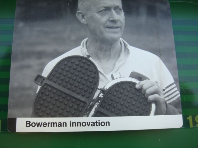 Nike Started Because He Used His Wife's Waffle Iron to Make Shoe Bottoms (Interesting?)